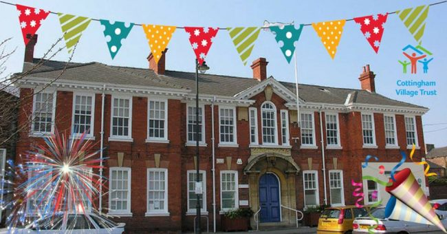 First week that Civic Hall has been run by Cottingham Village Trust