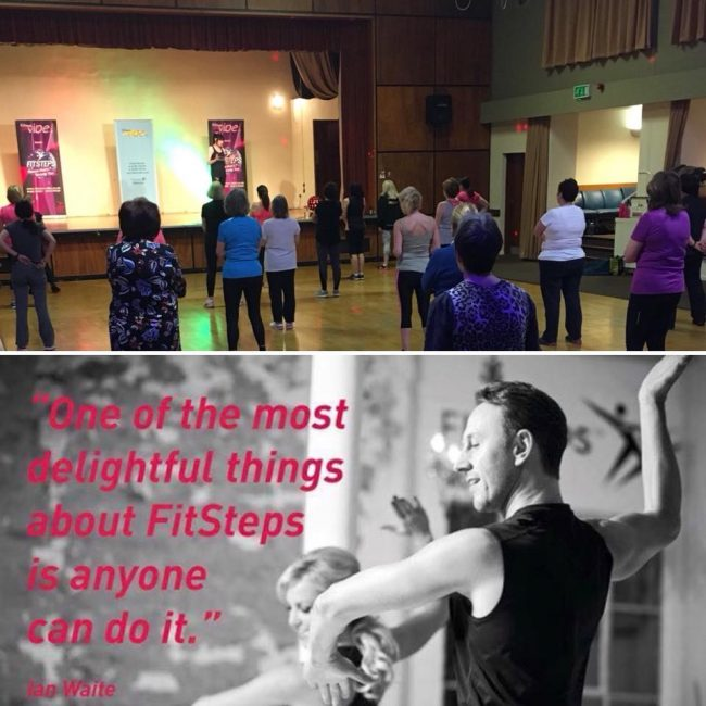 Well done to our former class member Louise for covering Fitsteps