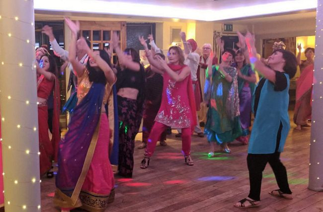 Fabulous Bollywood theme party night at Lazaats Restaurant