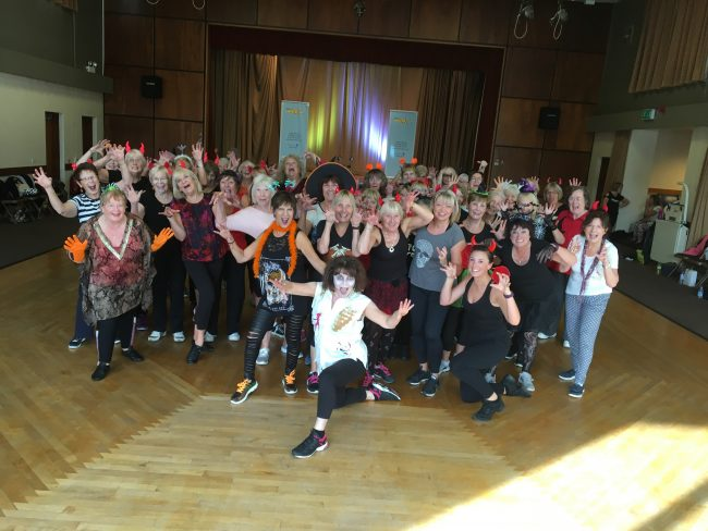 Our popular annual Halloween Zumba Bash, always lots of fun!