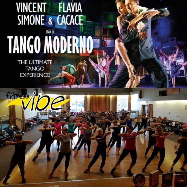 Tango Moderno starring Vincent and Flavia