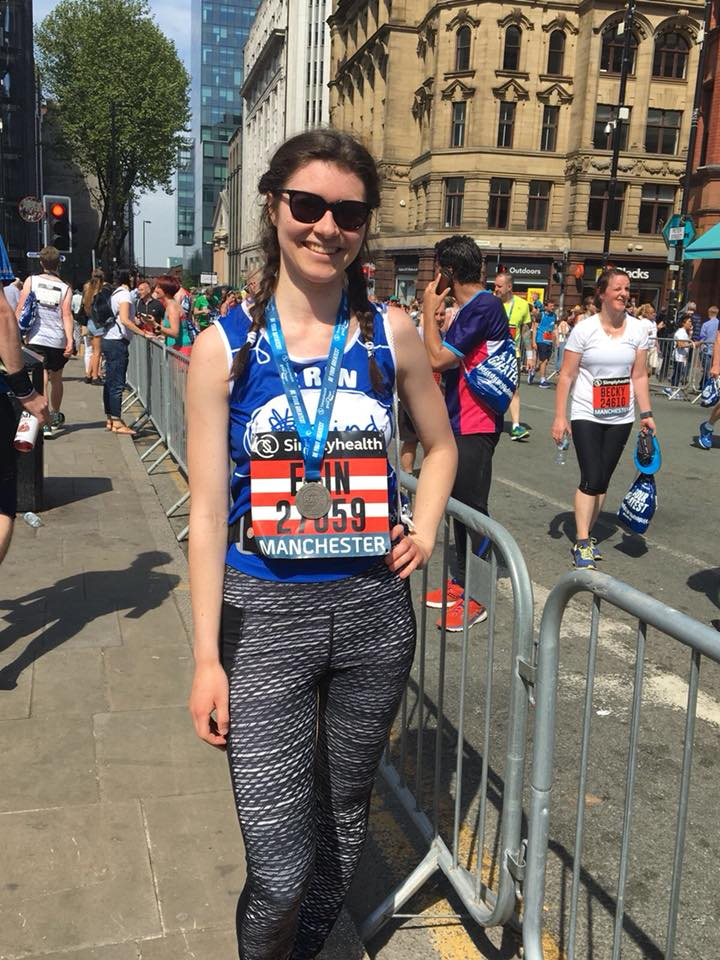 Big thank you to everyone who sponsored Erin's half marathon x