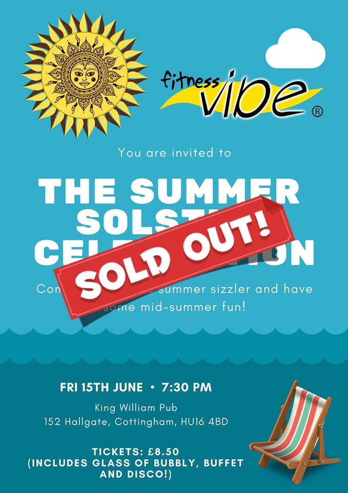 Wow! Summer Solstice Event now sold out!