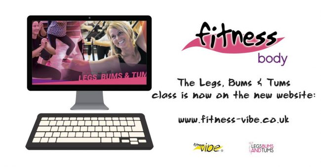 The New Legs Bums and Tums Class now live on the website