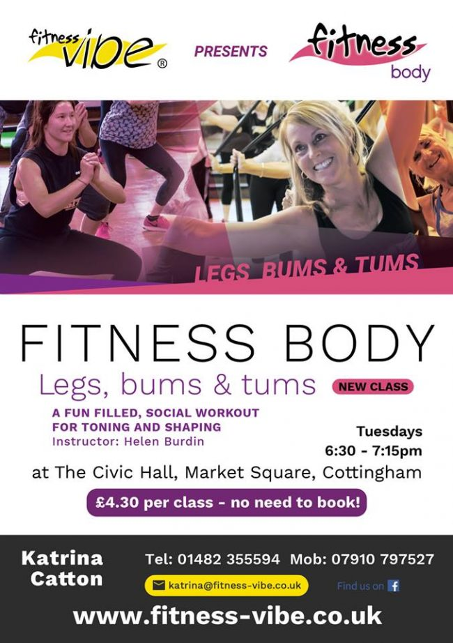 CHECK OUT THE NEW FITNESS BODY FLYERS