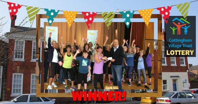 Winners!  Cottingham Village Trust 500 Club Lottery