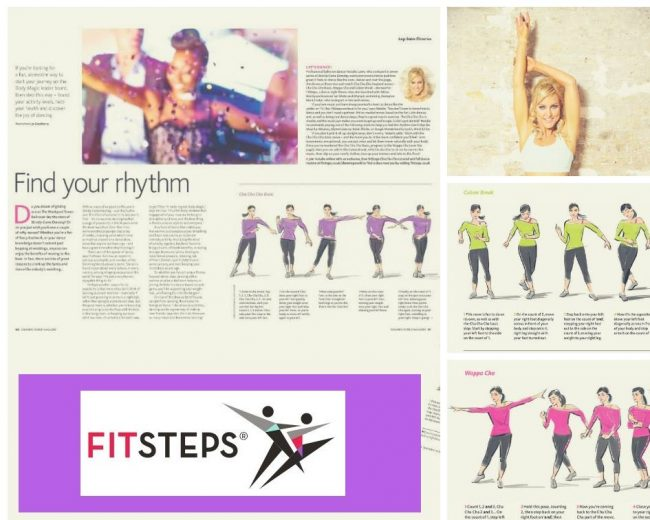 STRICTLY FITSTEPS NOW FEATURED IN SLIMMING WORLD MAGAZINES!