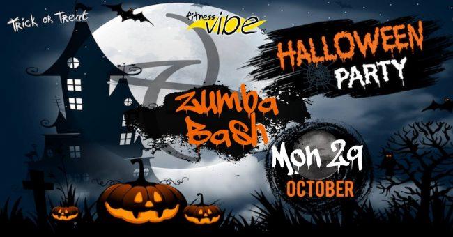 Zumba Halloween Bash Monday 29th October