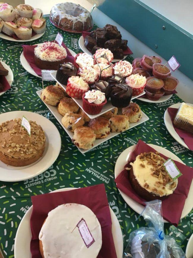 Civic Hall Macmillan Coffee Morning raises £302!