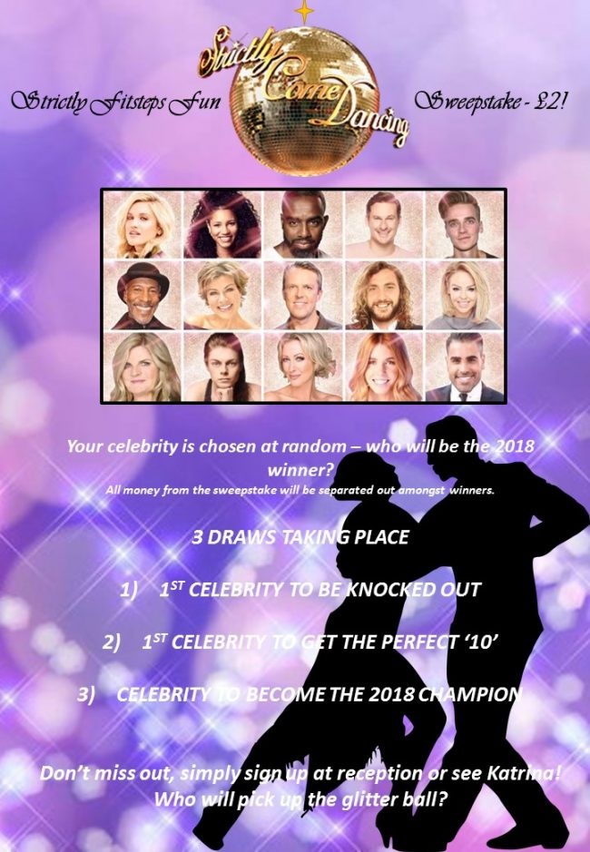 Strictly Fitsteps Sweepstake