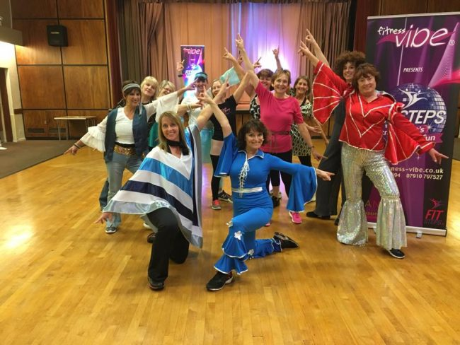 Mamma Mia Tribute Strictly Fitsteps Class