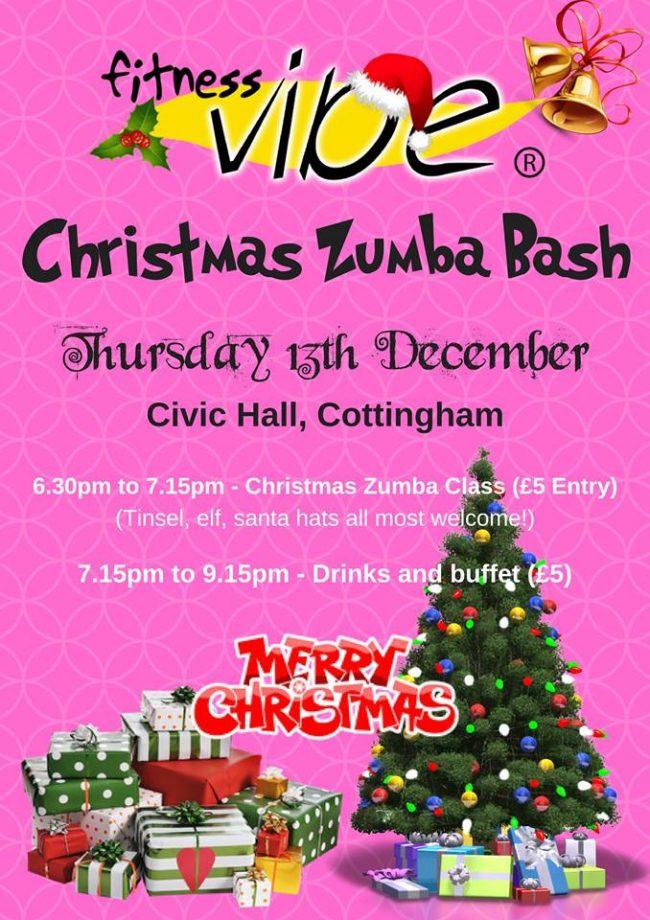 Annual Evening Xmas Zumba Bash Thursday 13th December