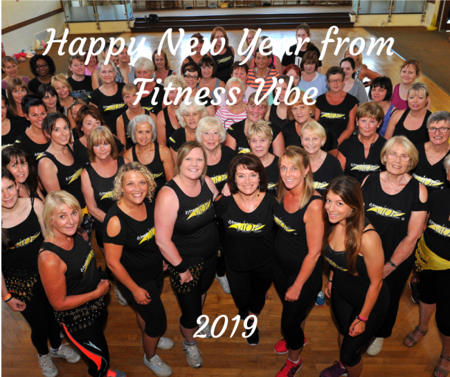 Happy New Year from Fitness Vibe