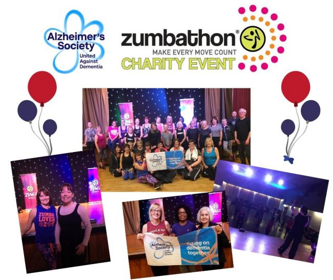 Wow! £450 raised for Alzheimers Society