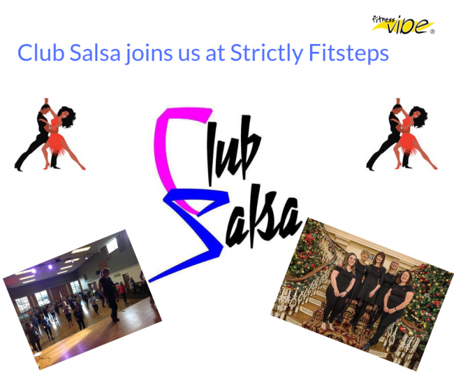 Club Salsa joins us at Strictly Fitsteps!