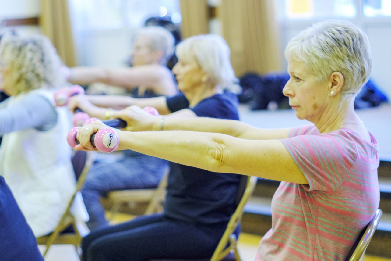 Fitness Gold, fitness class for seniors in Hull & Yorkshire