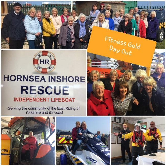 Fitness Gold Day Trip to Hornsea Inshore Rescue Centre