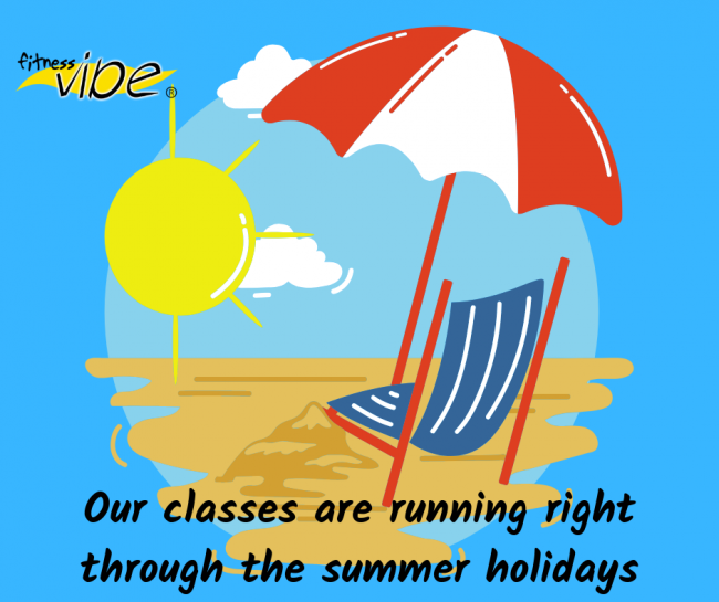 All classes running right through the summer holidays