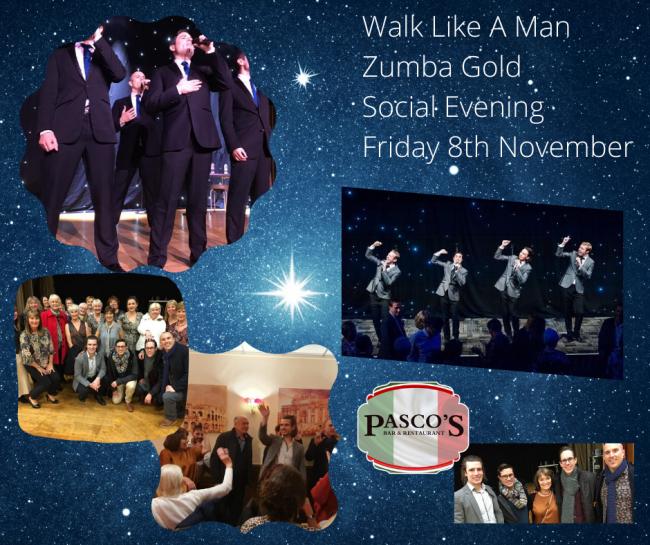 Walk Like A Man Zumba Gold Social Friday 8th November