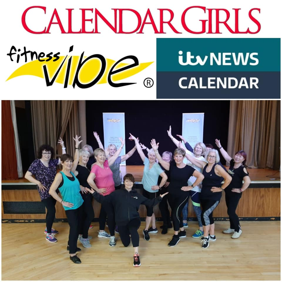 Fitness Vibe Zumba Gold feature on Calendar ITV News now live on You Tube