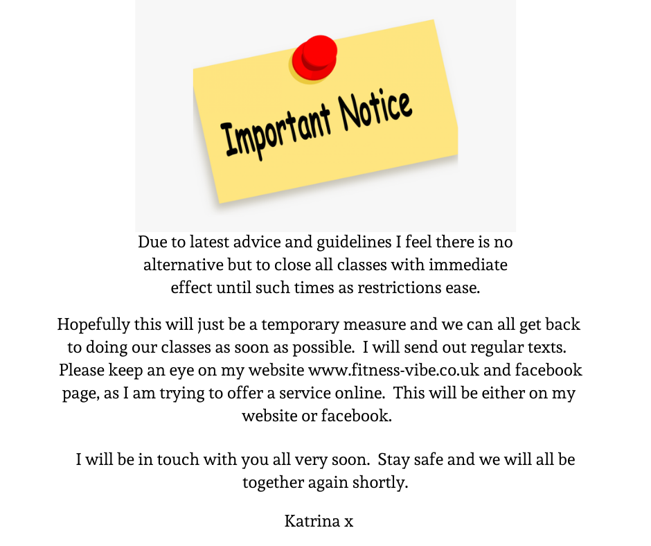 Important Notice.