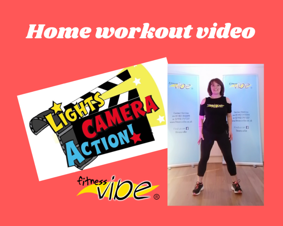Home workout video available