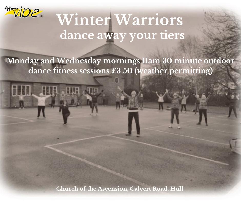 Winter Warriors, dance away your tiers!