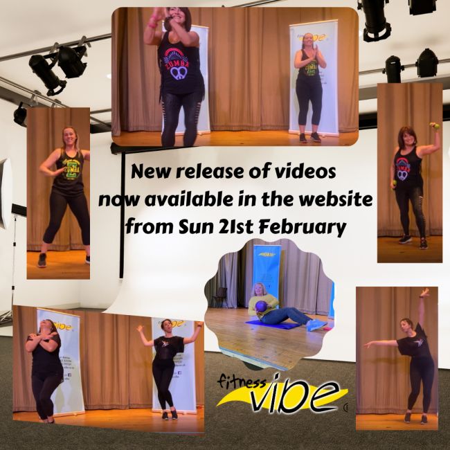 New Release Of Videos Now Available In The Website From Sun 21st February