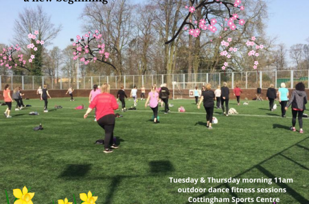 Outdoor Dance Fitness Classes now available