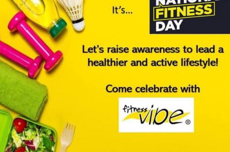 National Fitness Day 26th September 2021